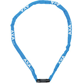 Axa Rigid Code Chain Lock 120cm blue